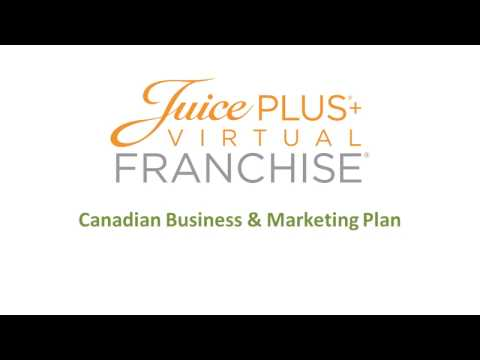 Juice Plus Canadian Business and Marketing Plan
