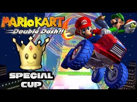 Mario Kart Double Dash: Special Cup 150cc Co-op!  Race to Mario Kart 8 Marathon!