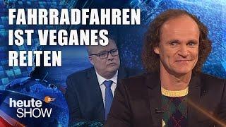 Olaf Schubert: So sieht der Verkehr der Zukunft aus | heute-show vom 12.05.2017
