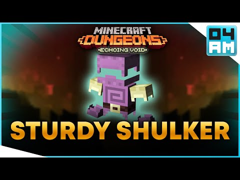STURDY SHULKER ARMOR Full Guide & Where To Get It in Minecraft Dungeons Echoing Void DLC