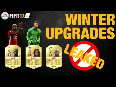 FIFA 17. WINTER UPGRADES LEAKED!!!!!!!!!!!!!! ( INVESTMENT TIPS AND HOW TO MAKE COINS )