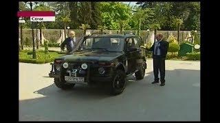 Putin's LADA 4x4 Niva ''Рись'' прем'єр-міністра Уряду РФ Ст. Ст. Путіна