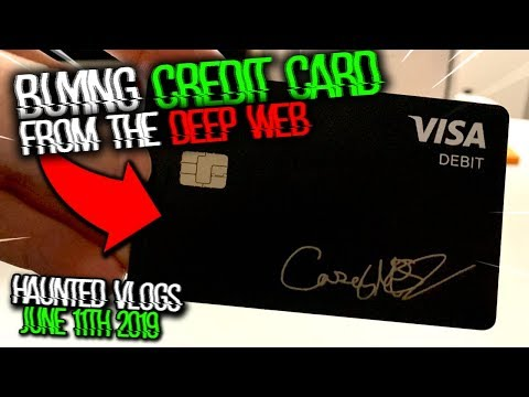 What Happens If You Buy A Credit Card On The Deep Web? (MUST SEE)