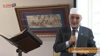 Kuran Dersi 322 - Fatih Çollak ile Kur'ân-ı Kerim Dersleri  (Saf Suresi 1 - 14)