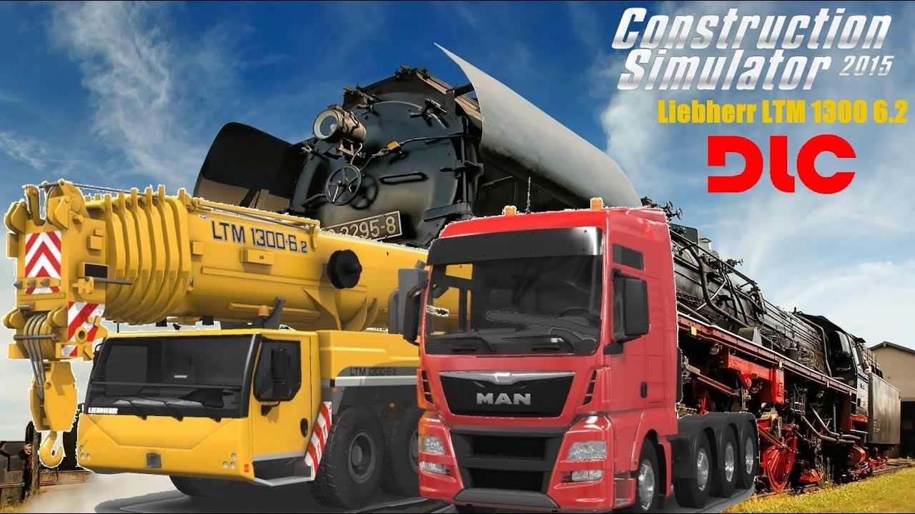 Construction Simulator 2015: Liebherr LTM 1300 6.2 ...