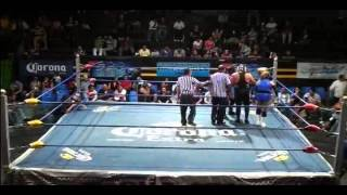 Charly Madrid, Cristal, Lady Puma vs Hija de Karonte, Lady Sensación, Tigre Lee