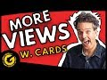 How To Increase YouTube Views w. Cards
