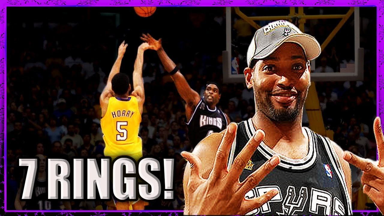 Robert Horry CLUTCH or LUCKY or both