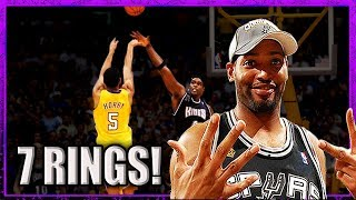 Robert Horry: CLUTCH or LUCKY? (or both)