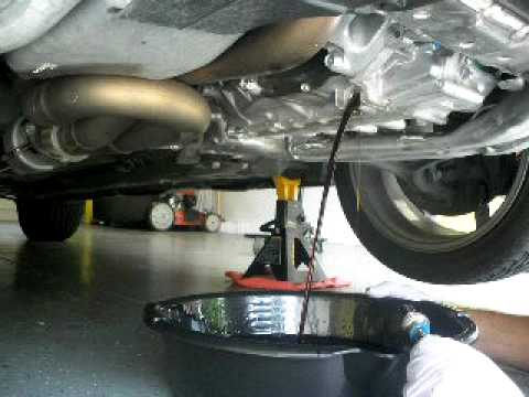 the right bolt for the tranny fluid change  YouTube