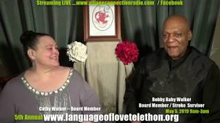 JOIN US - Hear Bobby Sing- Language of Love Telethon - MAY 5TH, 2019 9AM-3PM