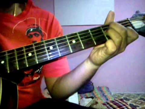 guitar chords and interlude garva marathi song