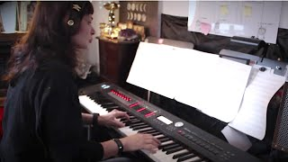 Rammstein - Mein Herz Brennt | Vkgoeswild piano cover видео
