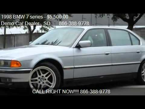 1998 bmw 7 series 750il for sale in sioux falls sd. Black Bedroom Furniture Sets. Home Design Ideas