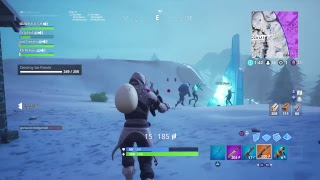 FORTNITE BATTLE ROYALE is SNOW JOKE XD come chill chat and enjoy peeps! :)