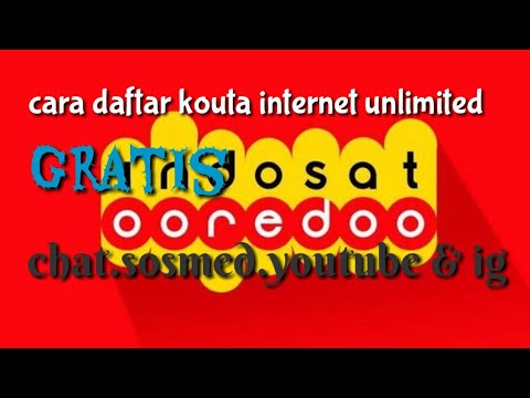 unlimited apps indosat