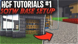 HCF Tutorials #1 - THE FIRST THINGS YOU NEED TO DO ON SOTW... (BASE SETUP)