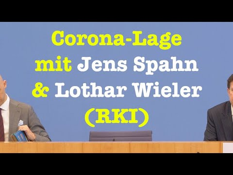 Jens Spahn, Lothar Wieler (RKI) zur Corona-Lage   BPK 9. April 2021