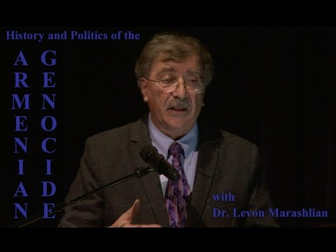 GCC- The History and Politics of the Armenian Genocide with Dr. Levon Marashlian