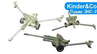 Гармата ЗІС-3 та груші СРСР. Огляд іграшки старої гармати)