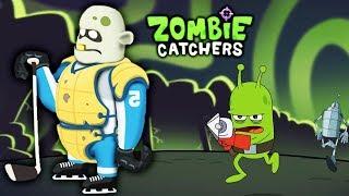Охота на Зомби НОВЫЙ ЗОМБИ ХОККЕИСТ Мультяшная игра про зомби Zombie Catchers