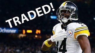 Antonio Brown Traded!