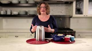 Cuisinart® Electric Cordless Tea Kettle (JK-17) Demo Video