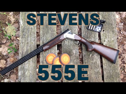 New 16-gauge Over/Under from Stevens by Savage - the 555E