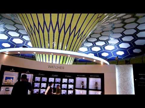 El aeropuerto de Abu Dhabi