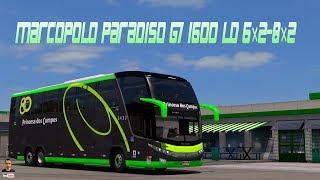 [ETS2. V1.28]...PDT...Marcopolo Paradiso G7 1600 LD 6×2-8×2