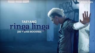 3d bass boosted taeyang 태양 ringa linga 링가 링가   bumble bts