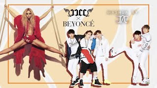 JJCC x Beyoncé - Fire (질러) • Run The World (Girls) (Mashup by J2J) + Download Link