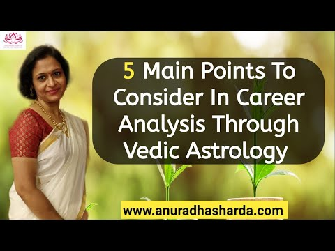 Five main points to consider to find Career or Profession through Vedic Astrology