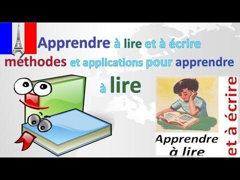 Apprendre à lire et à écrire -méthodes et applications pour apprendre à lire