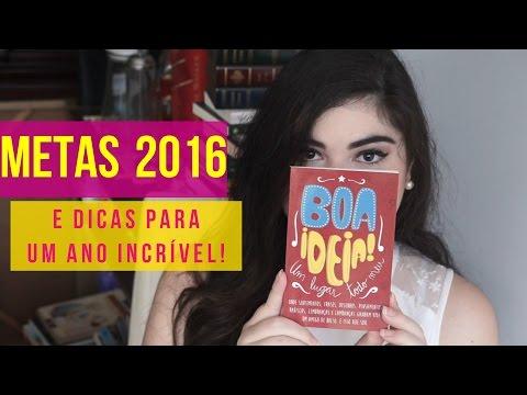 METAS 2016 + RETROSPECTIVA 2015 + DIY – FELIZ ANO NOVO!