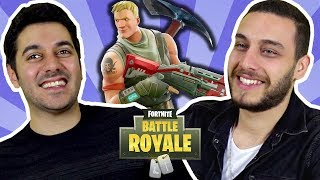 Teens Playing: Fortnite Battle Royale