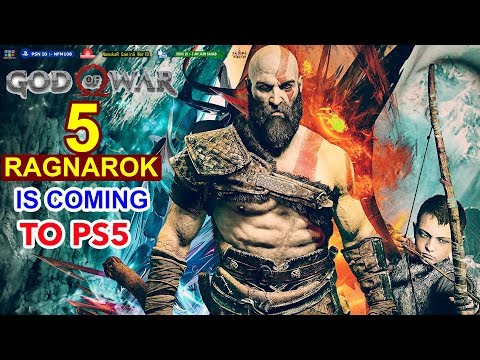 God Of War 5 Ragnarok Ps5 Kratos Vs Thor Ps5 Release