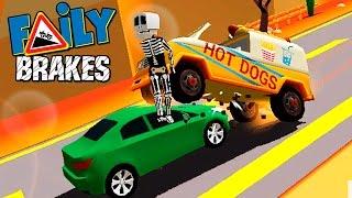 МАШИНКИ БЕЗ ТОРМОЗОВ #23 Faily Brakes ГОНКИ прохождение игры для детей видео про машинки kids game