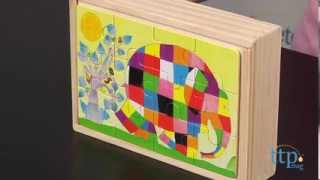 Elmer 4 Wooden Jigsaw Puzzles From Kids Preferred