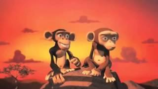 прикольный мультик для детей и взрослых про приколистую обезьяну