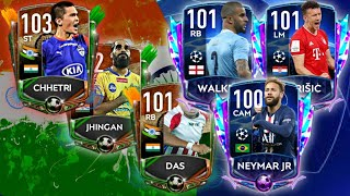 New Indian Independence day event! Champions League Quarterfinals MOTM are here! FIFA Mobile 20