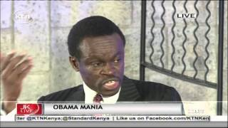 Jeff Koinange Live with PLO Lumumba and Barack Muluka on Obama visit part 3