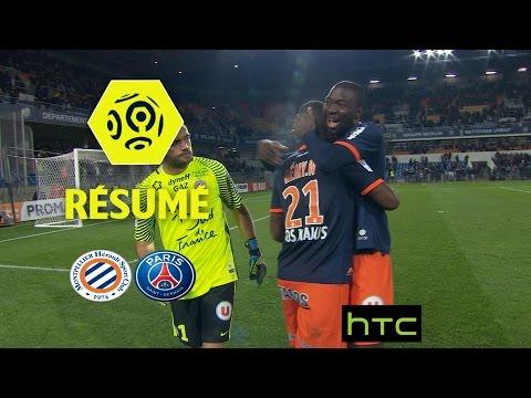 Montpellier Hérault SC - Paris Saint-Germain (3-0)  - Résumé - (MHSC - PARIS) / 2016-17