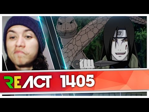 React 1405 Rap Do Orochimaru Naruto Tauz RapTributo 66