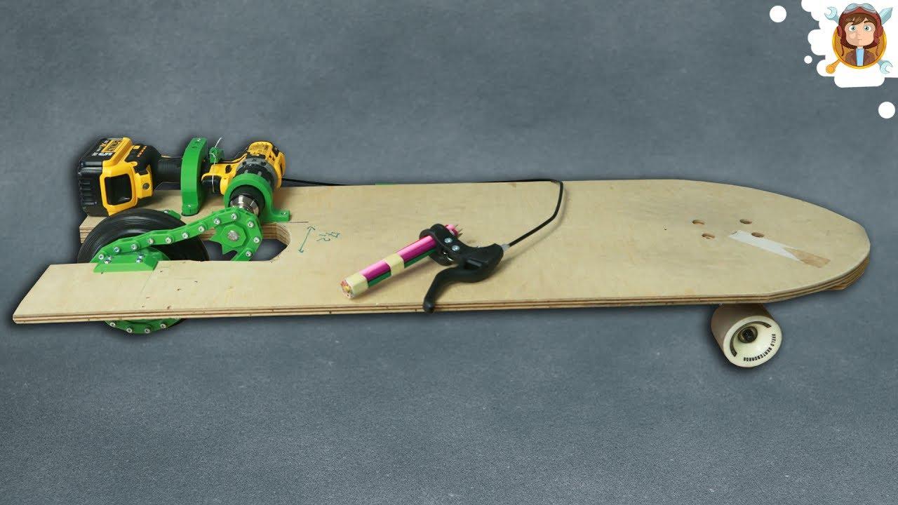 diy electric skateboard parachute system youtube. Black Bedroom Furniture Sets. Home Design Ideas