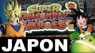 JAPON Nouvelle borne DRAGON BALL HEROES et FIGURE-RISE STANDARD - TOKYO OMOCHA SHOW 2016
