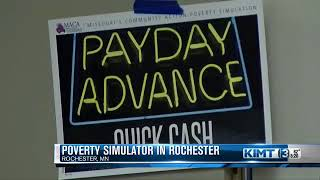 Olmsted Public Health Dept. hosts poverty simulator
