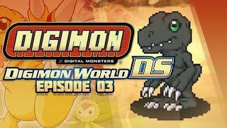 Digimon World DS - Ep 3 - Training Peak & BlackAgumon Boss!