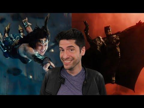 Justice League - Comic Con Trailer Review