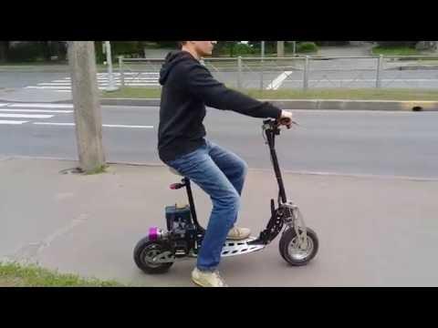 видео: Мотосамокат evo 2x (gp 460)